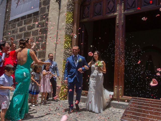 La boda de Cristi y Samuel en San Cristóbal de La Laguna, Santa Cruz de Tenerife 22