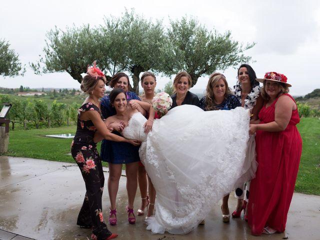 La boda de Fernando y Lidia en Laguardia, Álava 54