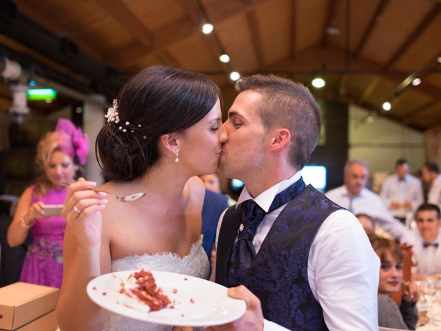 La boda de Fernando y Lidia en Laguardia, Álava 77