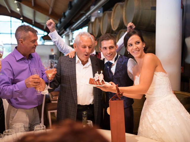 La boda de Fernando y Lidia en Laguardia, Álava 79
