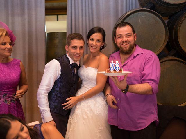 La boda de Fernando y Lidia en Laguardia, Álava 80