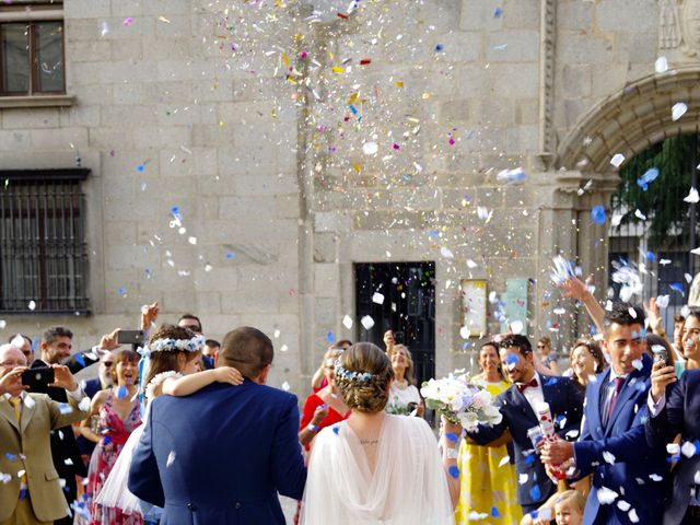 La boda de Javier y Natalia en Ávila, Ávila 8