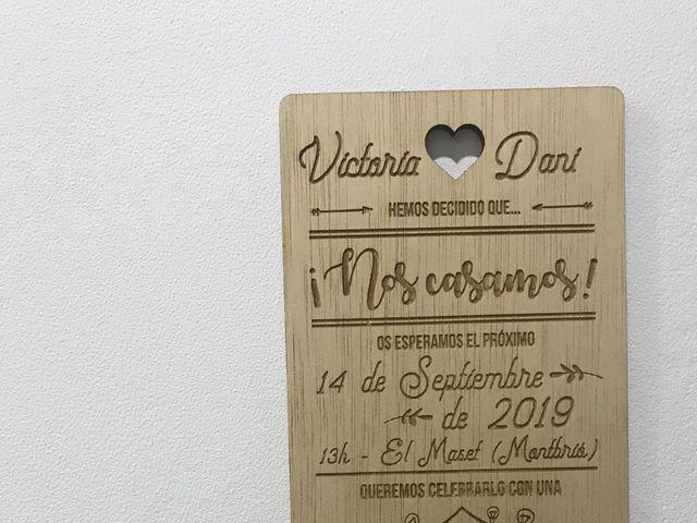 La boda de Dani y Victoria en Montbrio Del Camp, Tarragona 4