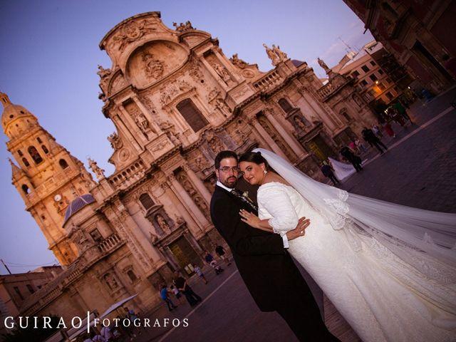 La boda de Mónica Mª y Pedro L. en Aljucer, Murcia 17