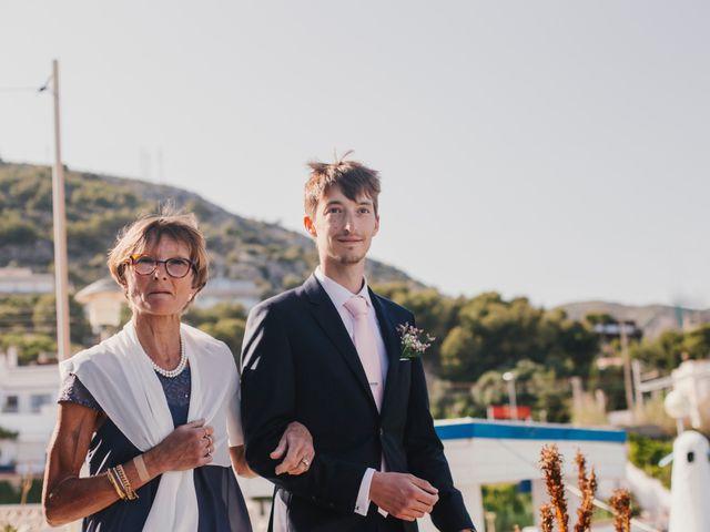 La boda de Baptiste y Gabriela en Garraf, Barcelona 26