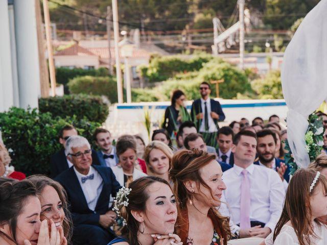 La boda de Baptiste y Gabriela en Garraf, Barcelona 42