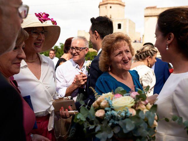 La boda de Fran y Marta en Jerica, Castellón 54