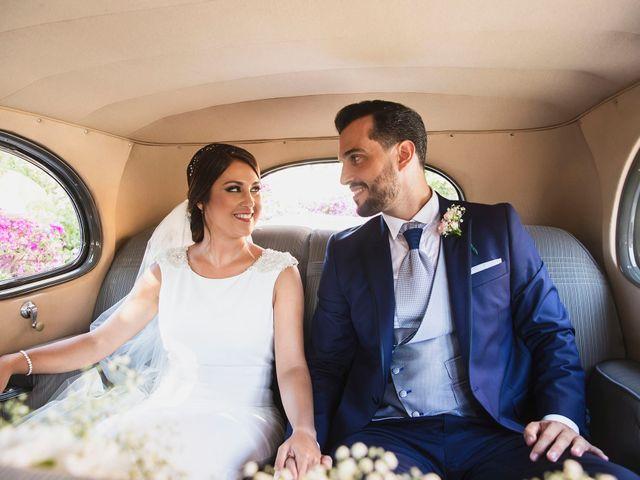 La boda de Julio y Alicia en Málaga, Málaga 35