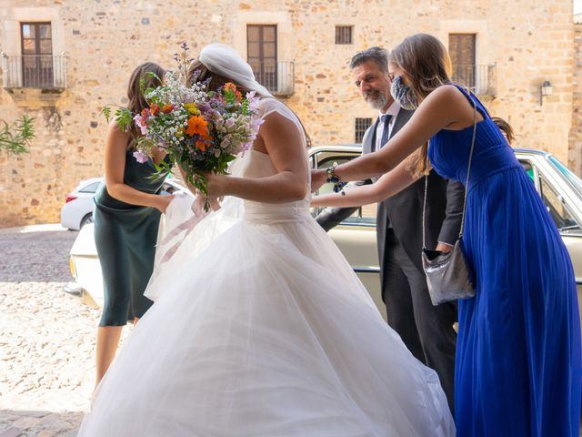 La boda de Cristina y Andrés en Trujillo, Cáceres 20