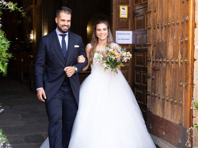 La boda de Cristina y Andrés en Trujillo, Cáceres 40