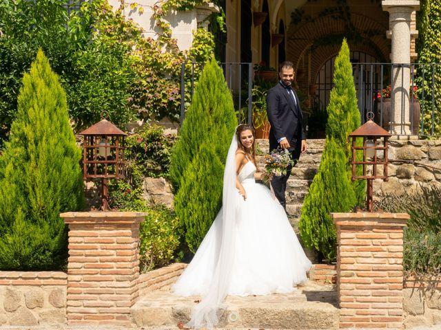 La boda de Cristina y Andrés en Trujillo, Cáceres 45
