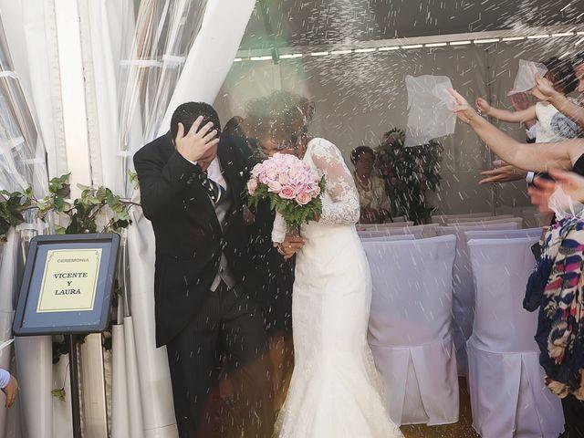 La boda de Vicente y Laura en Albal, Valencia 39