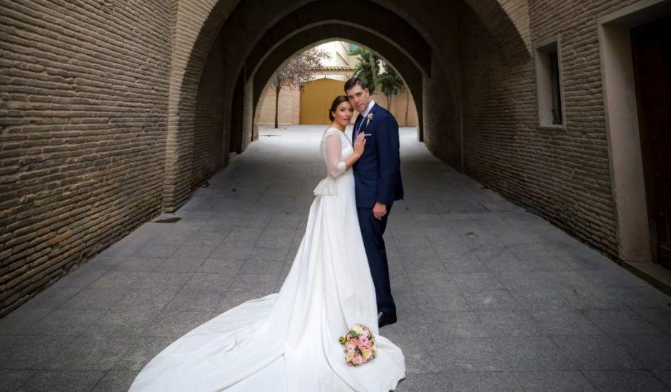 La boda de Israel  y María José  en Zaragoza, Zaragoza