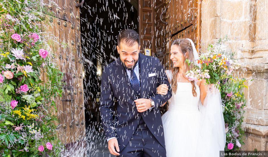 La boda de Cristina y Andrés en Trujillo, Cáceres