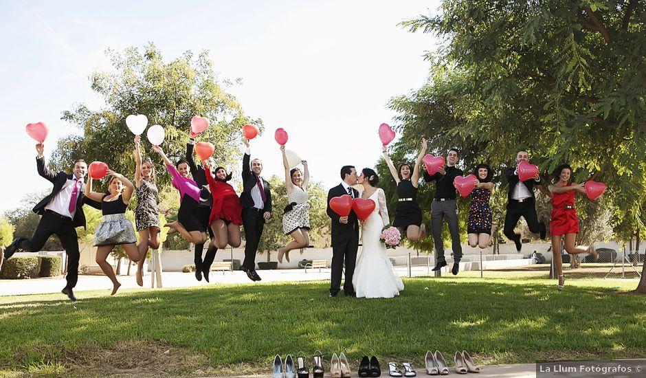 La boda de Vicente y Laura en Albal, Valencia
