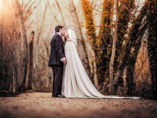 La boda de Luz y Adrià