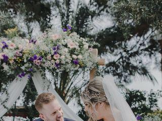 La boda de Estefanía y Fermín