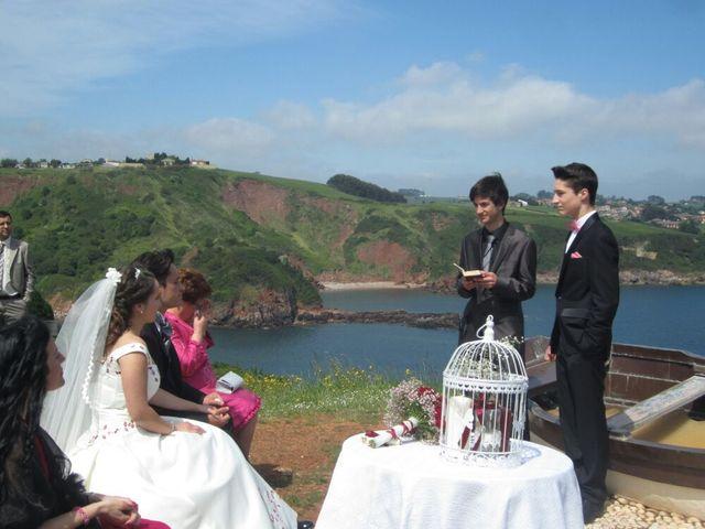 La boda de Rubén y Sabrina en Candas, Asturias 7