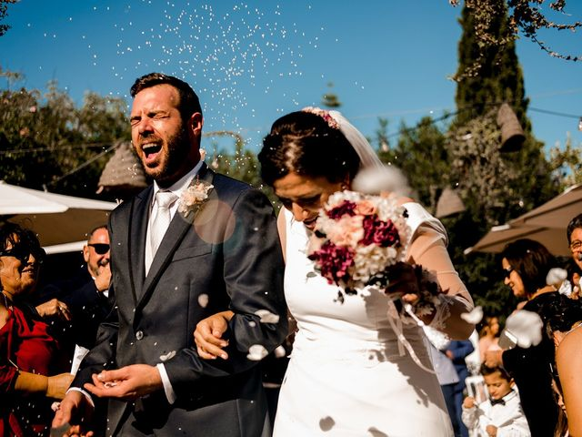 La boda de Carlus y Virginia en Santa Gertrudis De Fruitera, Islas Baleares 1
