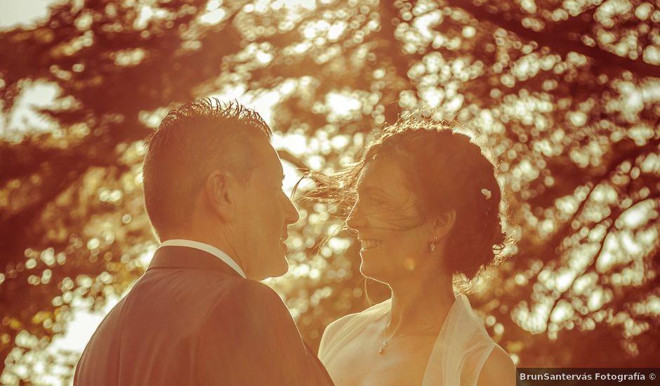 La boda de Luis y Cintia en Soutomaior, Pontevedra