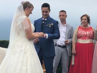 La boda de Kate y Valeriano
