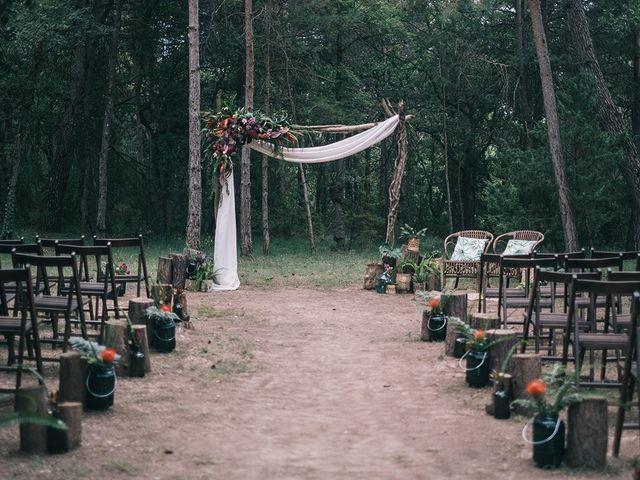 La boda de Albert y Tamara en Muntanyola, Barcelona 1