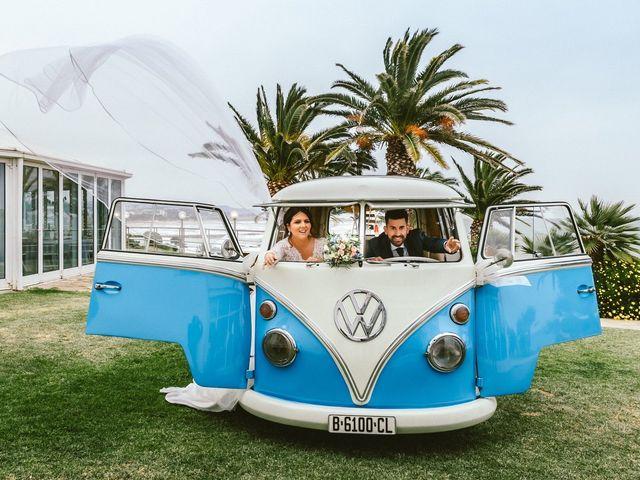 La boda de David y Maria en Vilanova I La Geltru, Barcelona 9