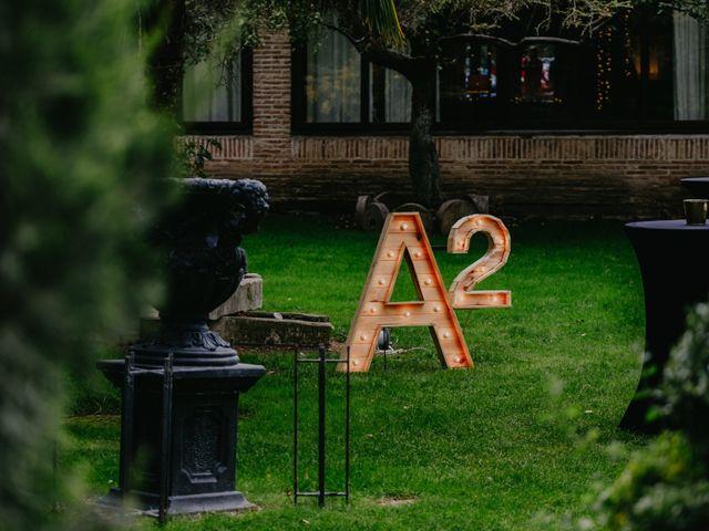 La boda de Álvaro y Ara en Alalpardo, Madrid 56