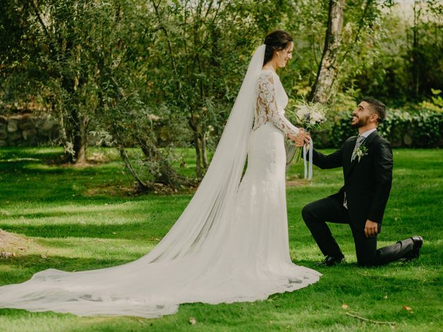 La boda de Álvaro y Ara en Alalpardo, Madrid 109