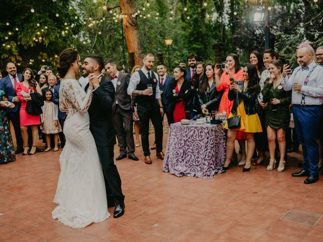 La boda de Álvaro y Ara en Alalpardo, Madrid 136