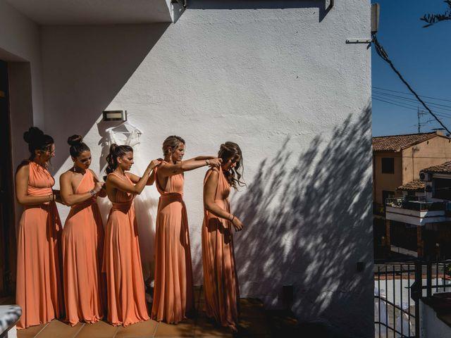 La boda de Aaron y Laura en Sant Fost De Campsentelles, Barcelona 24