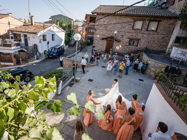 La boda de Aaron y Laura en Sant Fost De Campsentelles, Barcelona 40