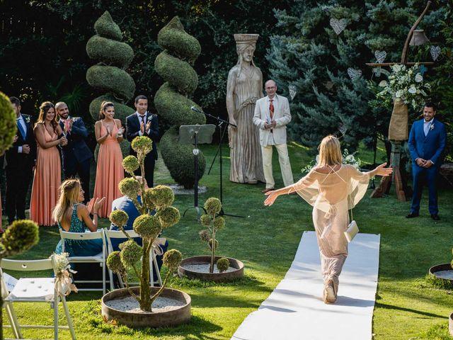 La boda de Aaron y Laura en Sant Fost De Campsentelles, Barcelona 47