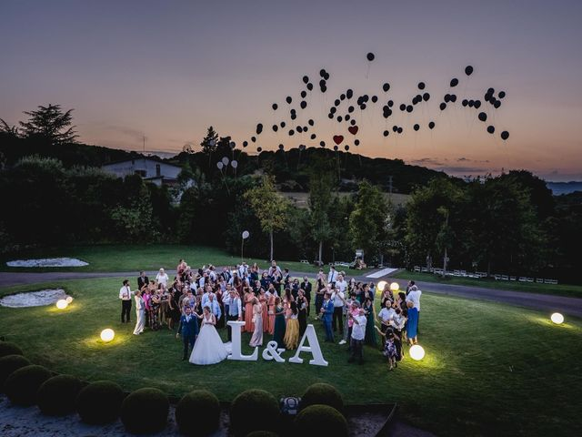 La boda de Aaron y Laura en Sant Fost De Campsentelles, Barcelona 71