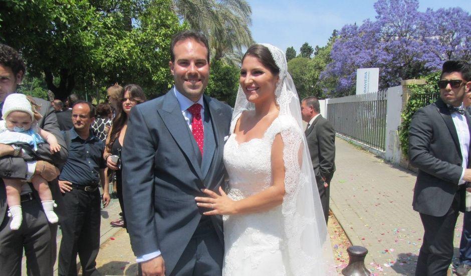 La boda de Rocio y Enrique en Sevilla, Sevilla