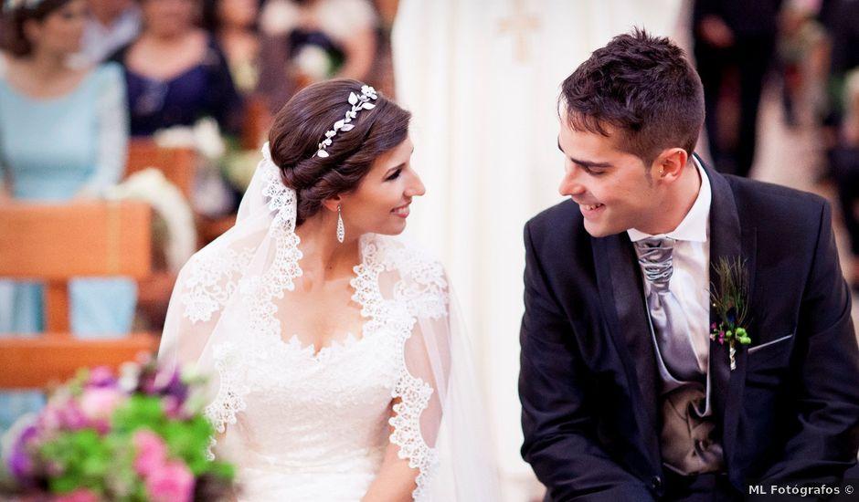 La boda de Sergio y Tamara en Yepes, Toledo
