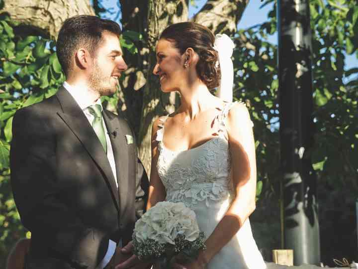 La boda de Antonio y Alejandra