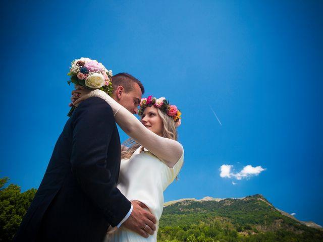 La boda de Fran y Andrea en Biescas Huesca Pirineo , Huesca 44