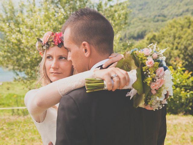 La boda de Fran y Andrea en Biescas Huesca Pirineo , Huesca 45