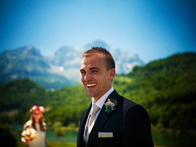 La boda de Fran y Andrea en Biescas Huesca Pirineo , Huesca 47