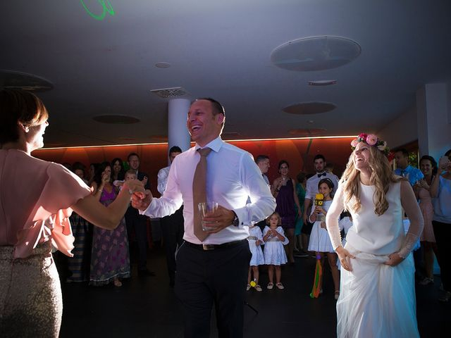 La boda de Fran y Andrea en Biescas Huesca Pirineo , Huesca 54