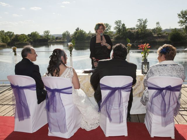 La boda de Laura y Alberto en Arganda Del Rey, Madrid 1