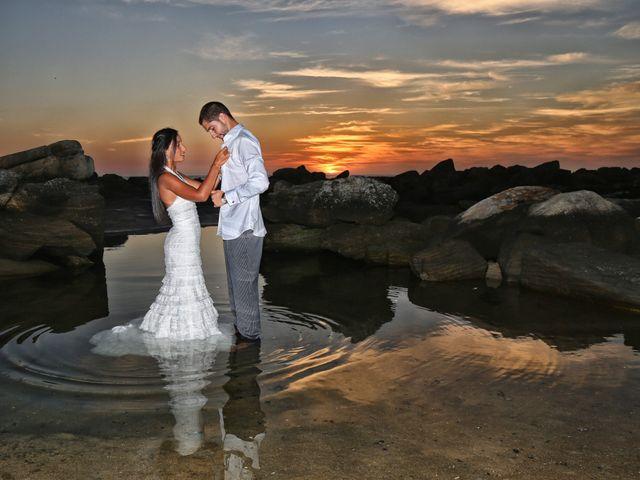 La boda de Anxo y Nerea en Baiona, Pontevedra 18