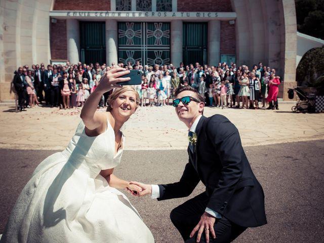 La boda de Gerard y Merche en Vilallonga Del Camp, Tarragona 25