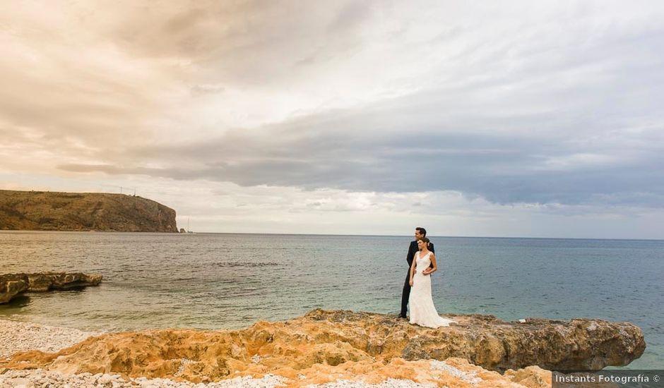 La boda de Dario y Maribel en Xàbia/jávea, Alicante