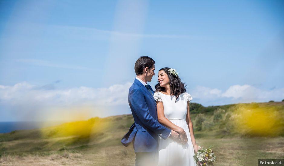 La boda de Javier y Leire en Sopelana, Vizcaya