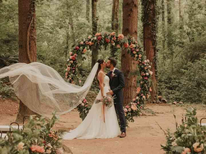 La boda de Eukene y Alejandro