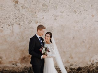 La boda de Pilar y Thomas