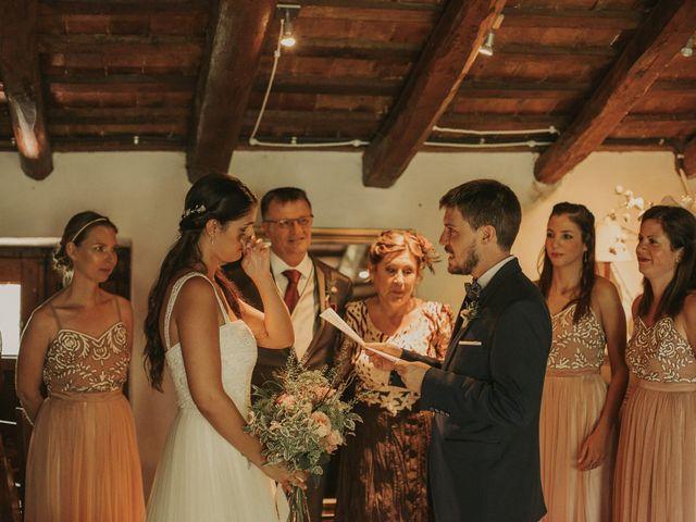 La boda de Alejandro y Eukene en Vilanova De Sau, Barcelona 15