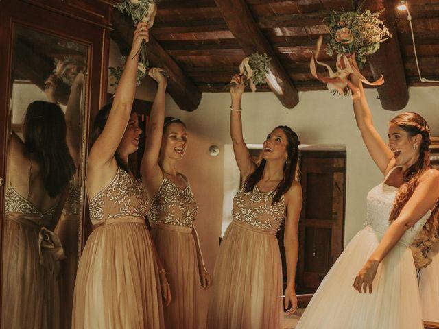 La boda de Alejandro y Eukene en Vilanova De Sau, Barcelona 17